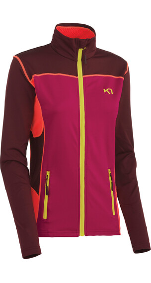 Kari Traa W's Lina F/Z Jacket RUBY